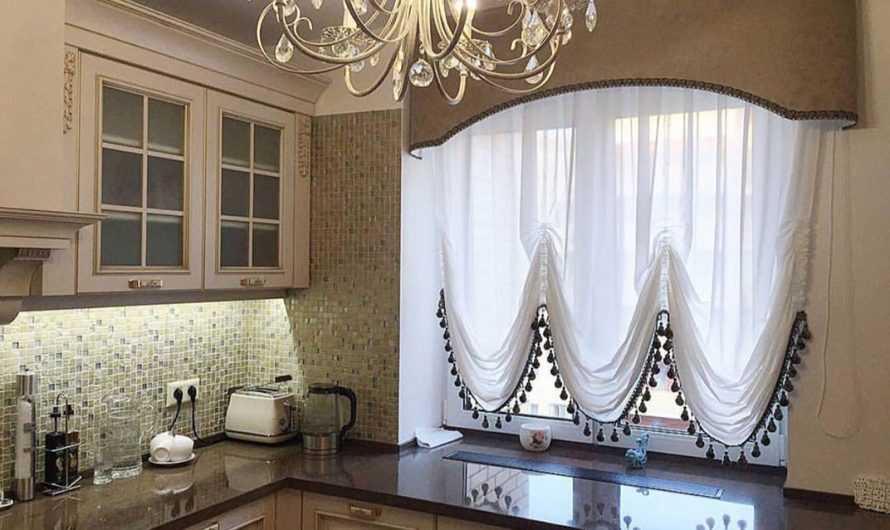 Шторы на кухню: 115 фото и видео мастер-класс оформления кухни при помощи оригинальных штор