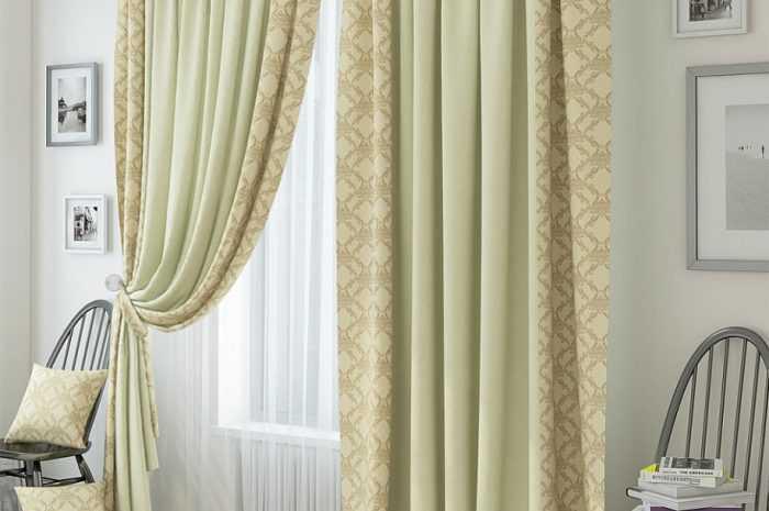 Бежевые шторы: особенности бежевых оттенков, правила сочетания цветов. Выбор интерьерного стиля для бежевых штор. Виды материалов ткани (фото + видео)