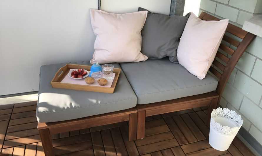 Диван на балкон: функции и преимущества дивана на балконе. Выбор модели, размера и формы. Инструкции по изготовлению своими руками (фото + видео)