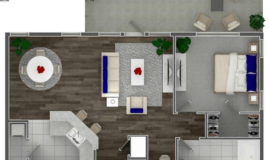 Двухкомнатная квартира: особенности планировки двухкомнатной квартиры. Выбор стилистики интерьера, цветовых решений, материалов отделки (фото + видео)
