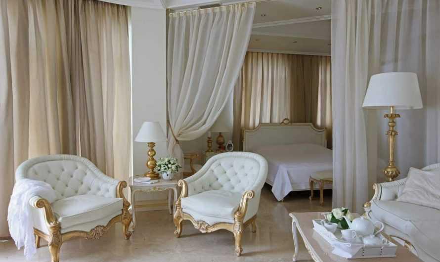 Классические шторы: плюсы и минусы классического стиля. Идеи дизайна классических штор, их место в интерьере. Фото и видео-обзоры вариантов