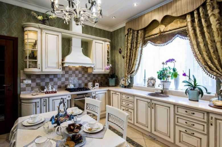 Шторы для столовой гостиной, в том числе и совмещенную с кухней: дизайна с фото