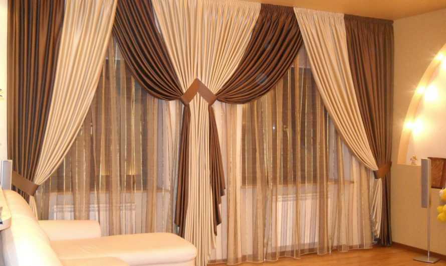 Комбинировать шторы: ТОП-180 фото и видео идей комбинирования штор. Правила сочетания цветов, тканей и фактур. Стилисткика интерьера