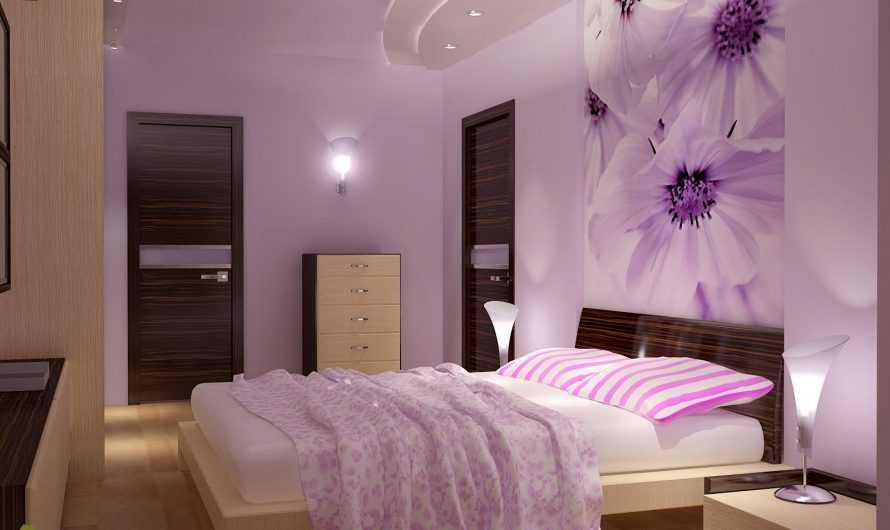 Красивые спальни: проект и планировка. Подготовка красивого дизайна. Выбор кровати и другой мебели. Цветовые решения  в отделке спальни (фото + видео)