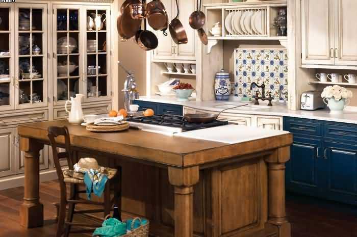 Кухня в стиле прованс: ТОП-170 фото и видео-обзоров. Особенности стиля прованс. Правила отделки и распределения цвета. Выбор мебели для кухни в стиле прованс. Текстиль и декор кухни