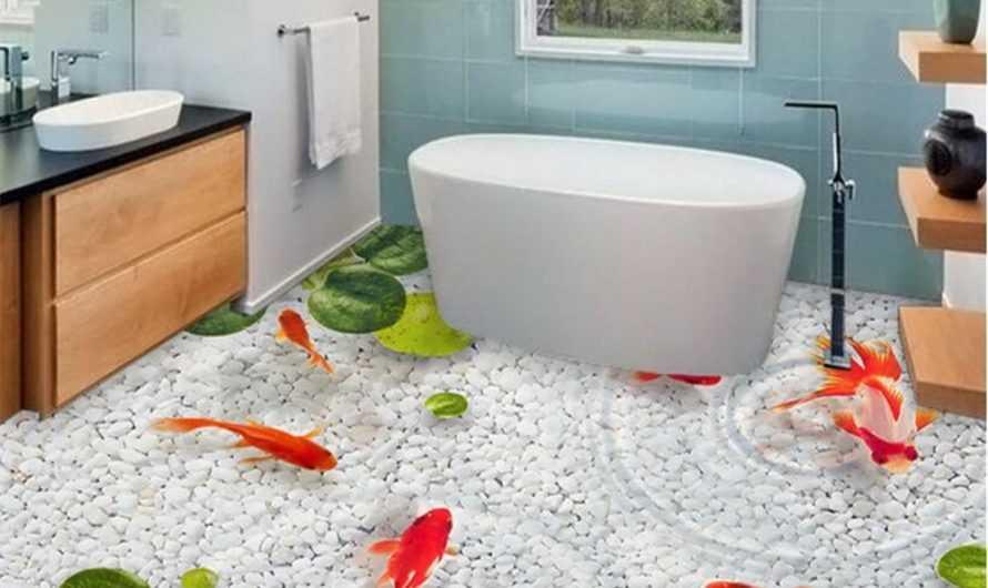Наливной пол в ванной комнате — ТОП-170 фото и видео вариантов. Преимущества наливного пола в ванной. Инструкции по заливке своими руками