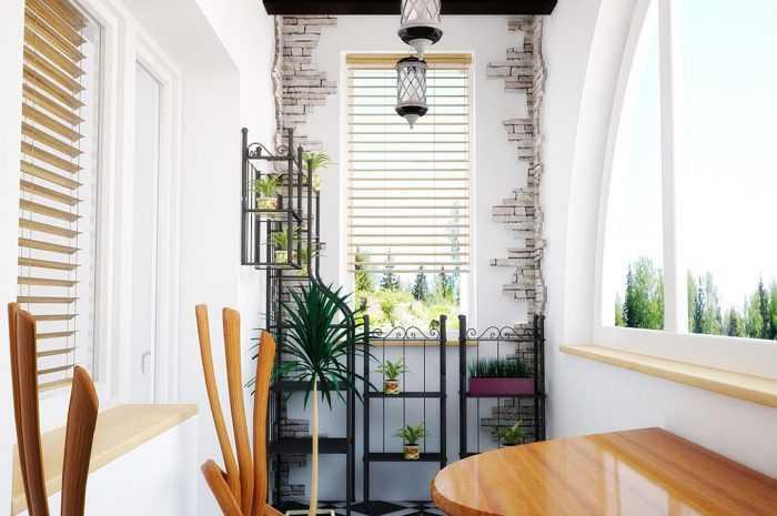 Отделка балкона камнем: 145 фото и видео описание как оформить стильно и красиво балкон