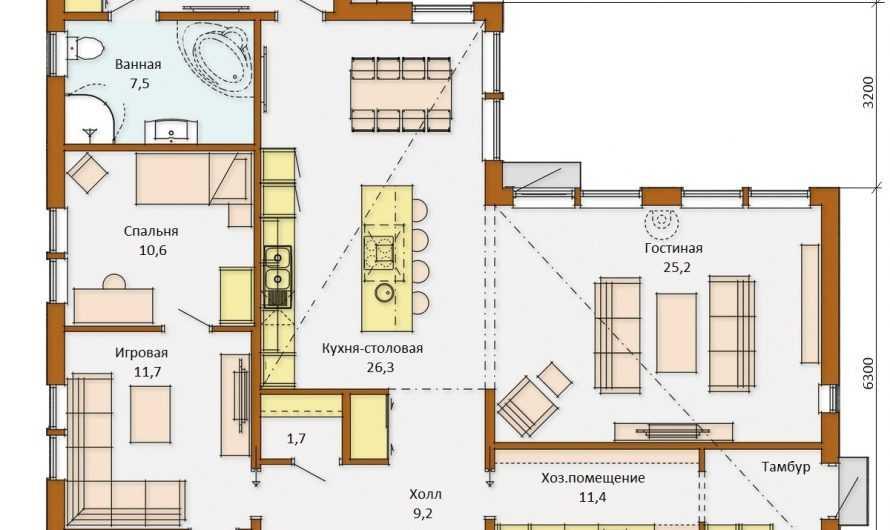 Планировка одноэтажного дома: ТОП-180 фото и видео идей планировки. Разновидности построек одноэтажных домов. Создание проекта по этапам