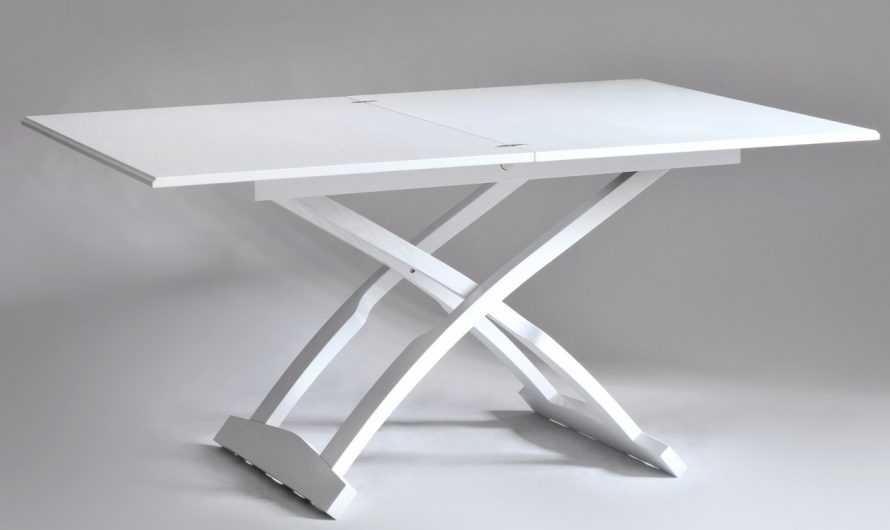 Стол-трансформер: преимущества и недостатки конструкции. Выбор материала изготовления и механизма для стола-трансформера (фото + видео)