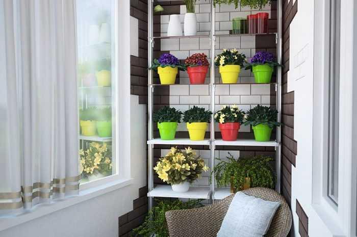 Полки на балконе — практичные идеи и подробная инструкция как установить и где лучше разместить полки (115 фото)