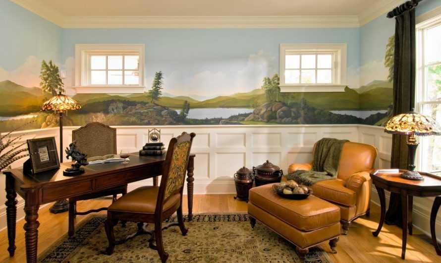 Роспись стен: 110 фото и видео как сделать художественное оформление стен своими руками