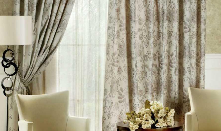 Шторы в гостиную: 175 фото и видео мастер-класс применения штор в гостиных комнатах