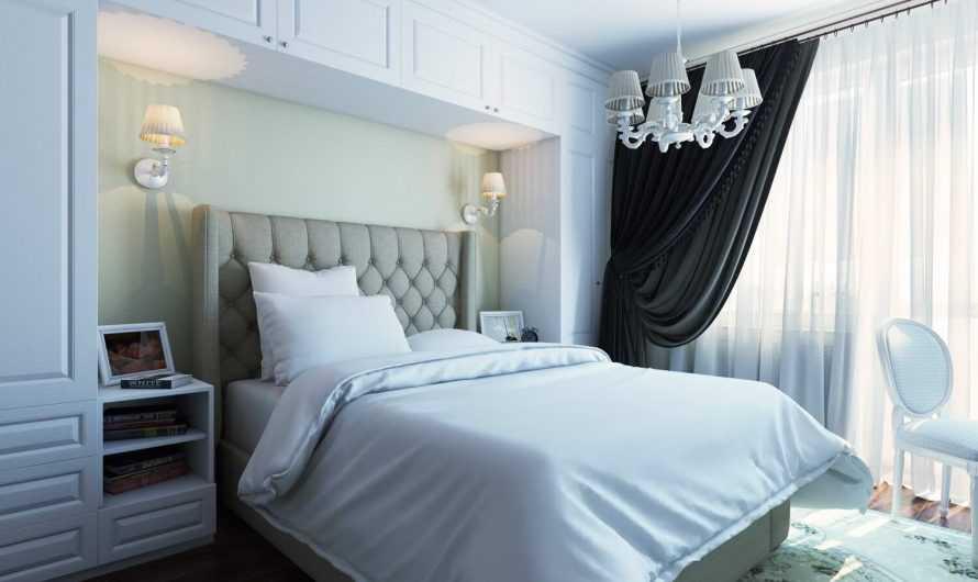 Спальни 18 кв. м. — ТОП-150 фото и видео-обзоров. Выбор интерьерного стиля. Форма помещения и особенности обустройства. Способы совмещения с балконом и гардеробной