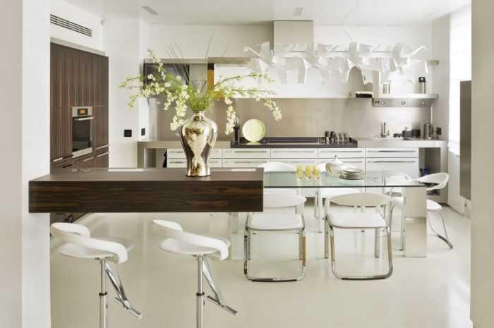 Стеклянный стол — преимущества и недостатки стеклянных столов. Подходящие интерьерные стили. Разновидности конструкций. Фото и видео вариантов