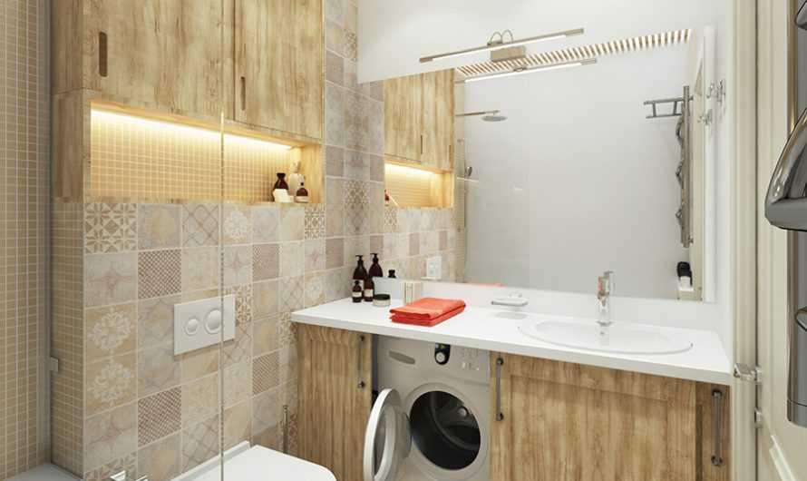 Стиральная машинка в ванной — виды, нюансы применения и особенности установки стиралки (145 фото и видео)
