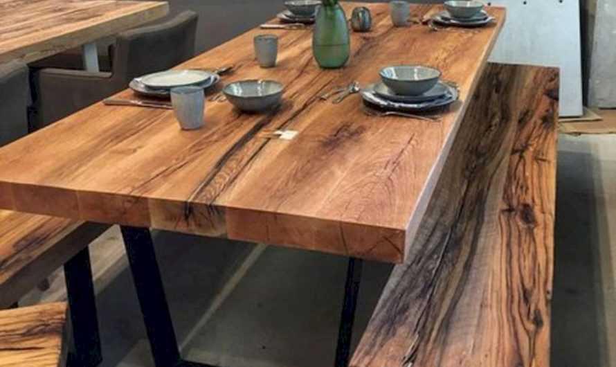 Стол из массива дерева: преимущества материала. Советы в подборе сорта древесины и форме столешницы. Фото и видео-инструкции по изготовлению