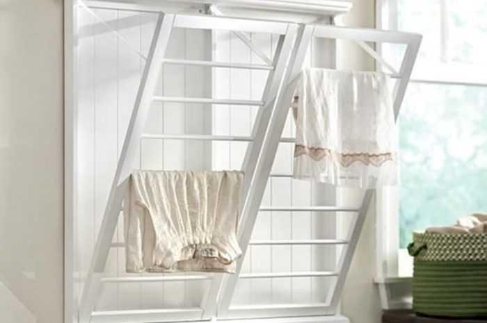 Сушилка для белья на балкон — 105 фото современных моделей и видео инструкция по их установке