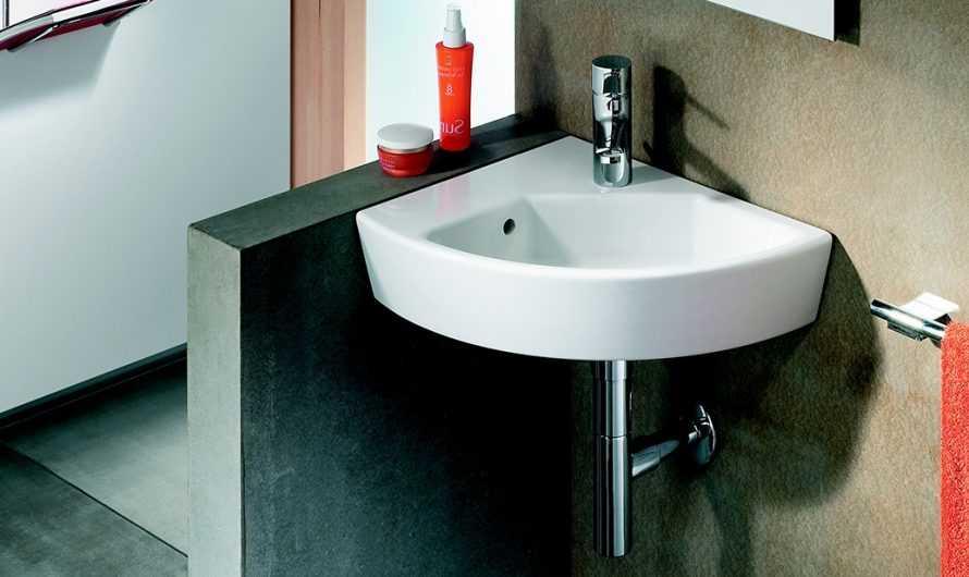 Угловая раковина в ванную: ТОП-180 фото и видео вариантов угловых раковин. Плюсы и минусы небольших раковин. Виды и форм и материалов