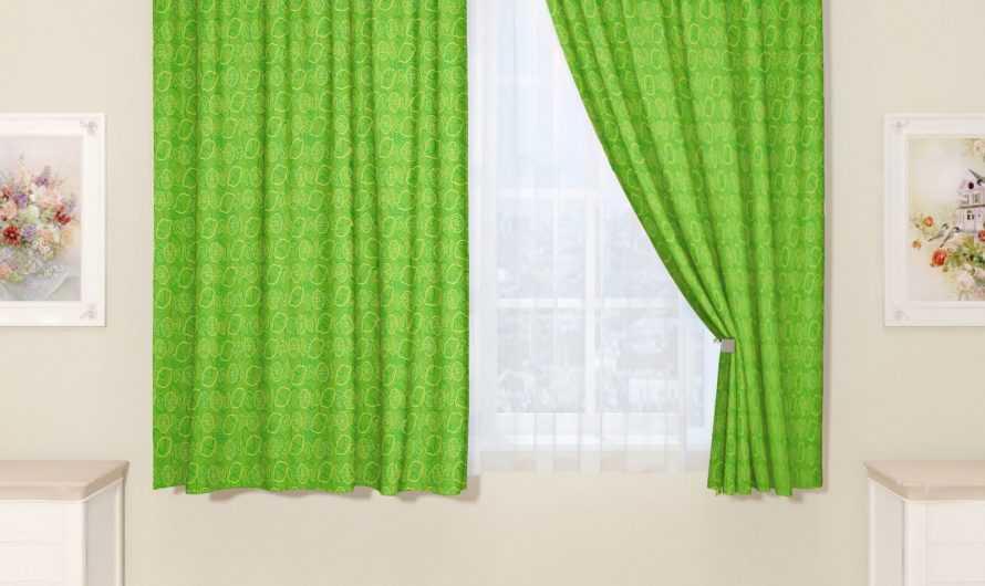 Зеленые шторы: особенности выбора расцветки и оттенков зеленого. Сочетание интерьерных стилей с зелеными шторами. Фото и видео-обзоры от дизайнеров