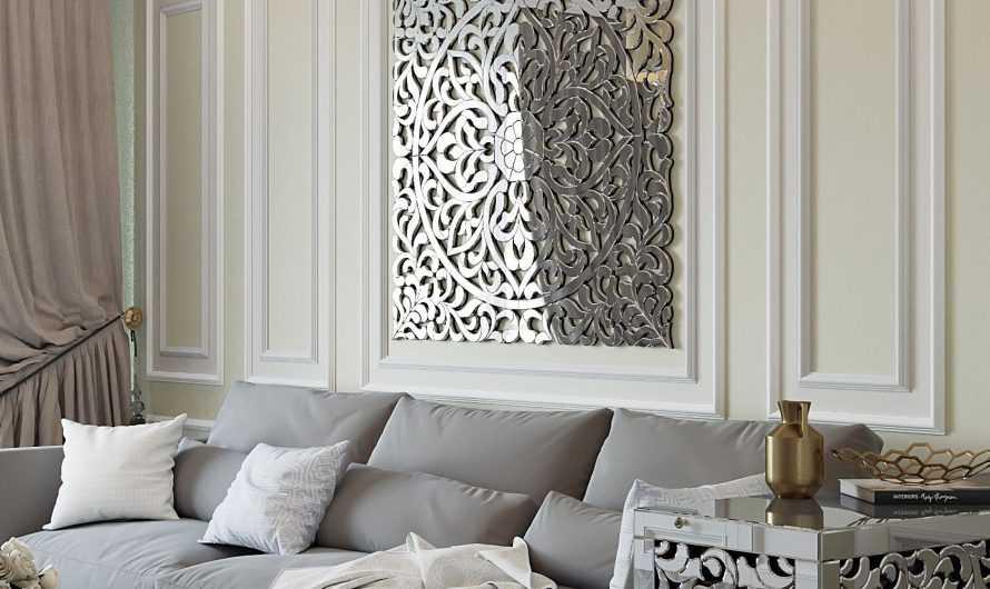 Зеркала в гостиной: правильное размещение зеркал в гостинной. Освещение зеркал. Зрительное увеличение пространства. Фото и видео-обзоры от дизайнеров